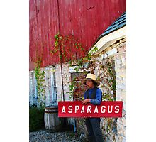 The Asparagus Boy Photographic Print