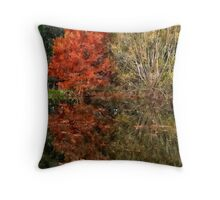 Autumn flame Throw Pillow