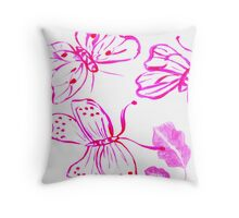 7 DAYS OF SUMMER- ART DESIGNS Throw Pillow