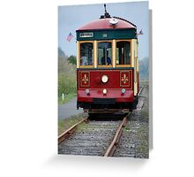Astoria Trolley Greeting Card