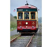 Astoria Trolley Photographic Print