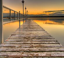 """""""Pier""""ing at the sunrise. by vilaro Images"""