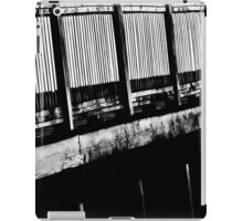 Abstract Black and White iPad Case/Skin