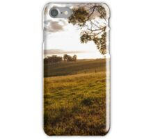 Sunset of Farm iPhone Case/Skin