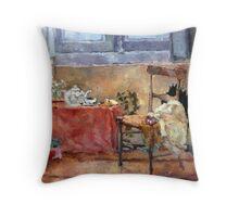 Corso Dogali - Genova Throw Pillow