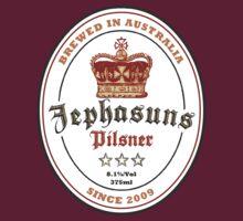 The Jephasuns Pilsner Label T-Shirt T-Shirt