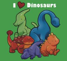 I <3 Dinosaurs! Kids Clothes