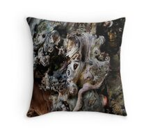 Goblin Wood Throw Pillow