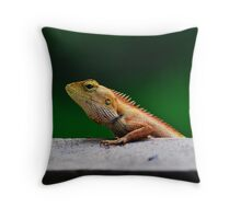 when I grow up I want to be a crocodile Throw Pillow