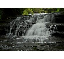 Leura cascade flows Photographic Print