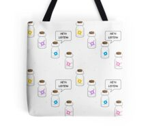 Hey Listen! (And Friends) Tote Bag
