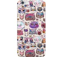 Feline Faces iPhone Case/Skin