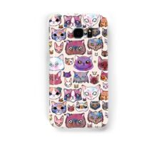 Feline Faces Samsung Galaxy Case/Skin