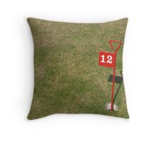 The Twelth Hole Throw Pillow