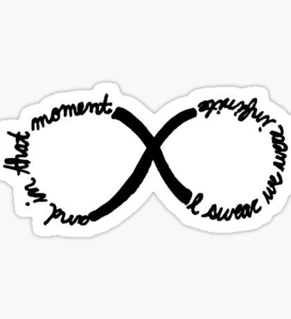 Inifinite Sticker