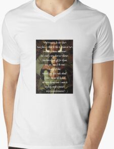 Princess Bride Rhymes Mens V-Neck T-Shirt