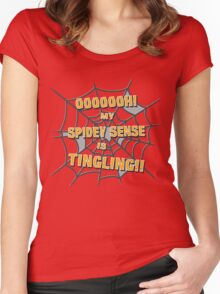 My Spidey Sense is Tingling Women's Fitted Scoop T-Shirt