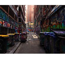 Melbourne's colourful side Photographic Print