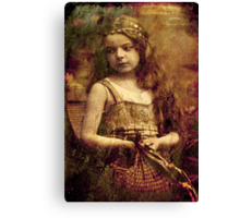 Gypsy Girl Canvas Print