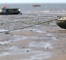 The tide is out by Tony Worrall