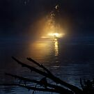 Murray River Sunrise. by John Vandeven
