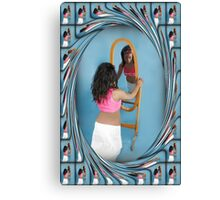 (*•.¸♥¸.•*´) A MIRRORED REFLECTION (*•.¸♥¸.•*´) Canvas Print