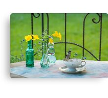 Time For Tea 2 Canvas Print