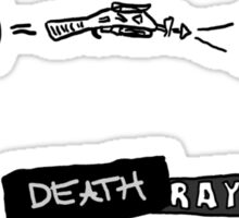 DR HORRIBLE - Death ray Sticker