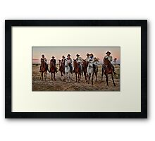 A Ride to Remember - 1 May 2011 Framed Print