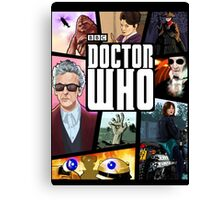 Doctor Who Series Nine Canvas Print