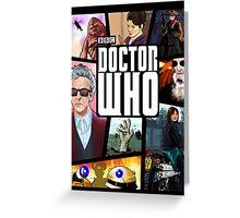Doctor Who Series Nine Greeting Card