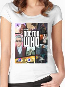 Doctor Who Series Nine Women's Fitted Scoop T-Shirt