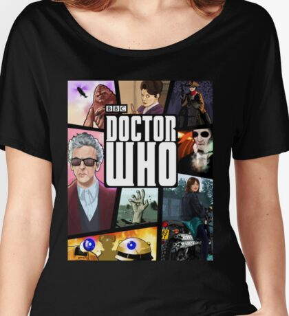 Doctor Who Series Nine Women's Relaxed Fit T-Shirt