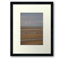 Silver streaks   Framed Print