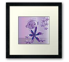 Purple..... Framed Print