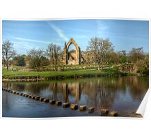 Bolton Abbey Poster