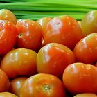 Farm Fresh Tomatoes by Richard Shakenovsky