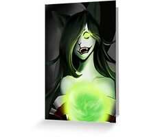 Zombie Ahri Greeting Card