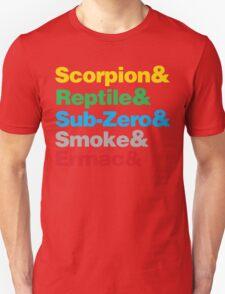 Mortal Kombat Beatles Parody shirt T-Shirt