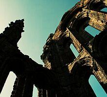 Whitby Abbey detail by DAVID JACKSON