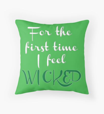 As Long As You're Mine- Wicked Throw Pillow