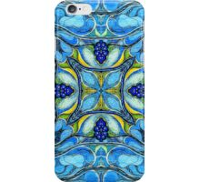 Blue mandala iPhone Case/Skin