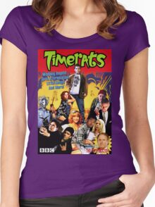 Timerats Women's Fitted Scoop T-Shirt