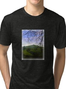 Brentor in the Distance Tri-blend T-Shirt