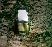 Castle Window -  Portballintrea Belfast by Victoria limerick