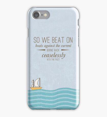 Born Back Ceaselessly  iPhone Case/Skin