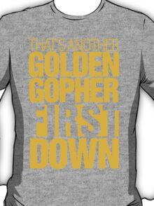 Minnesota Gophers - First down tee T-Shirt