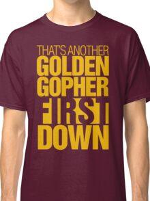 Minnesota Gophers - First down tee Classic T-Shirt