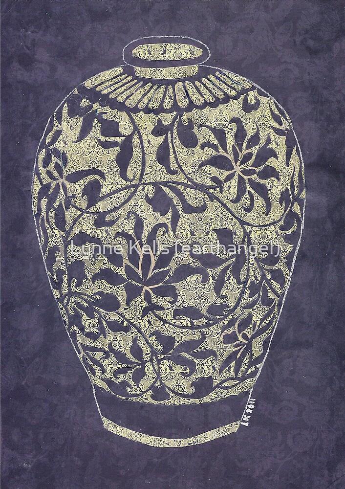 Mother's Day Vase Papercut by Lynne Kells (earthangel)