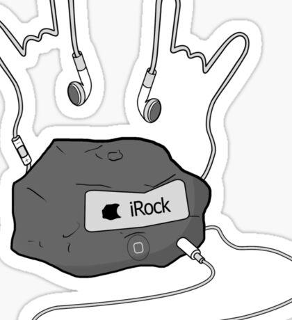 iRock Sticker